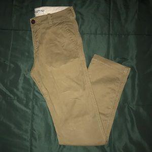 Boys Abercrombie Khaki Pants